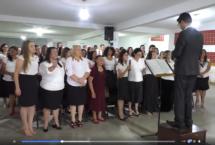 Pastor Roque Lourenço Da Igreja Assembléia De Deus Missão, Comemora Mais Um Aniversário, E Toda A Igreja Celebra Com Ele